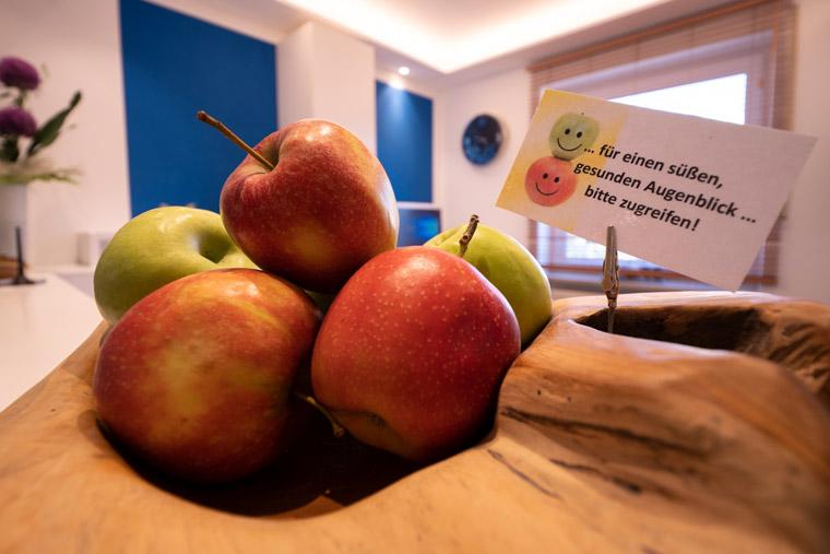 Äpfel - Gesundes für die Zähne